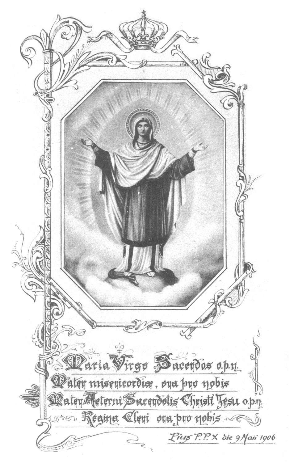 Maria Virgo Sacerdos