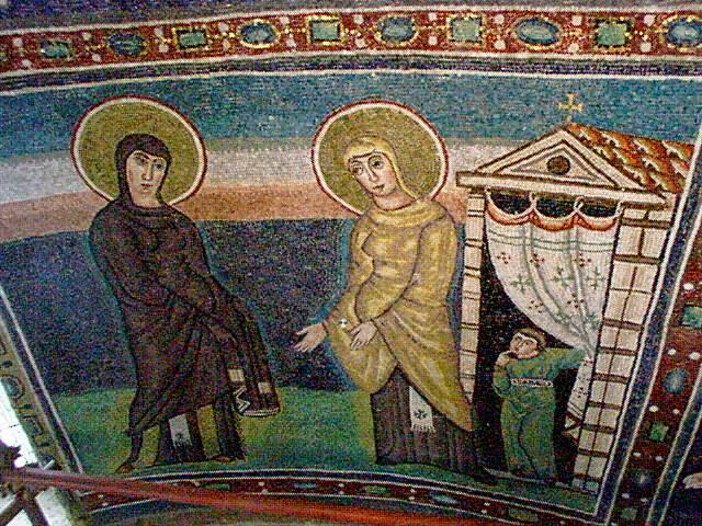 Visitación de María a su prima Isabel