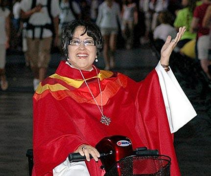Obispa Rev. Margarita Martínez (QEPD)